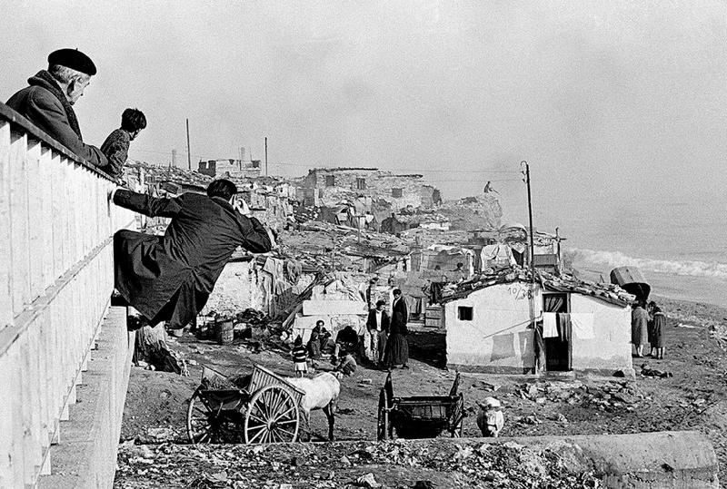 (Somorrostro. Foto di I. Marroyo 1964)